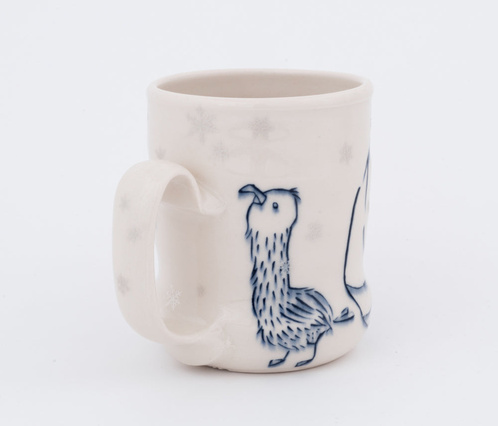 Walrus and Seagull in Snowfall Cup (c-2403) 14 fl oz