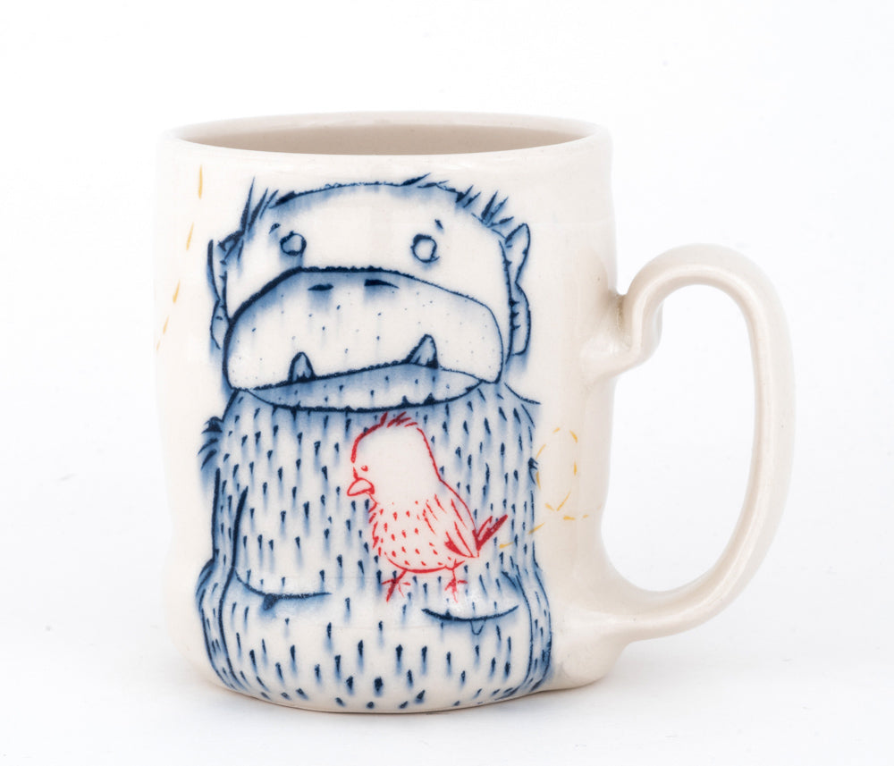 Monkey with an Underbite Cup (c-2461) 14 fl oz