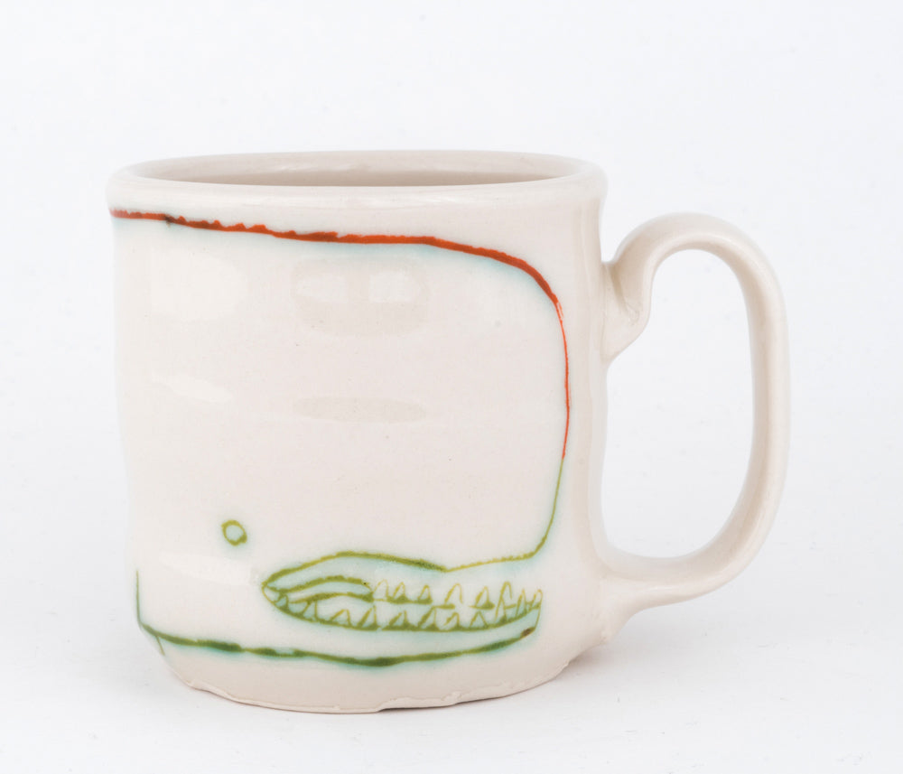 Bird and Whale Cup (c-2485) 10 fl oz