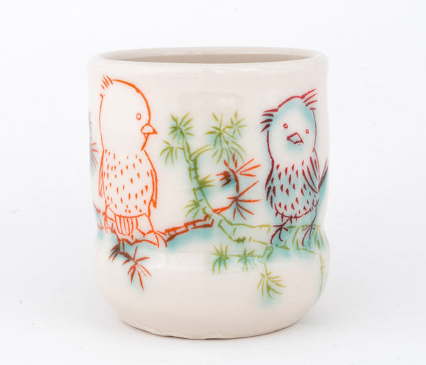 Birds on a Branch Cup (c-2486) 12 fl oz