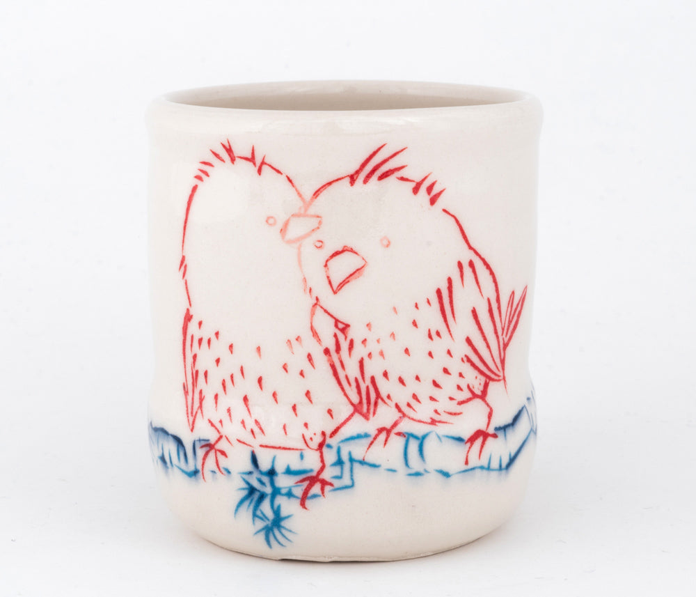 Love Birds Cup (c-2490) 10 fl oz