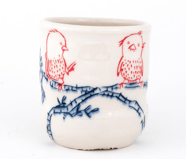 Birds on a Branch Cup (c-2492) 11 fl oz