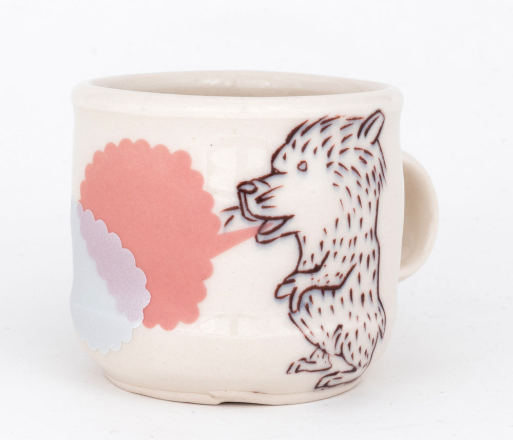 Bird and Dog Espresso Cup (c-2540) 7 fl oz