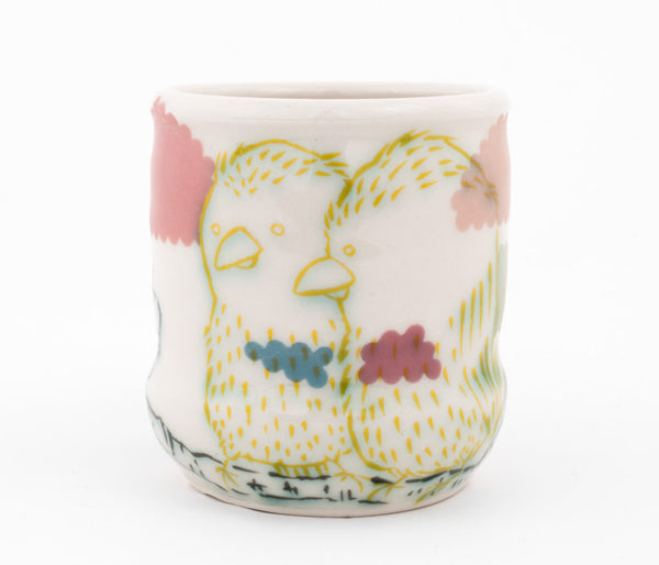 Love Birds Cup (c-2559) 10 fl oz