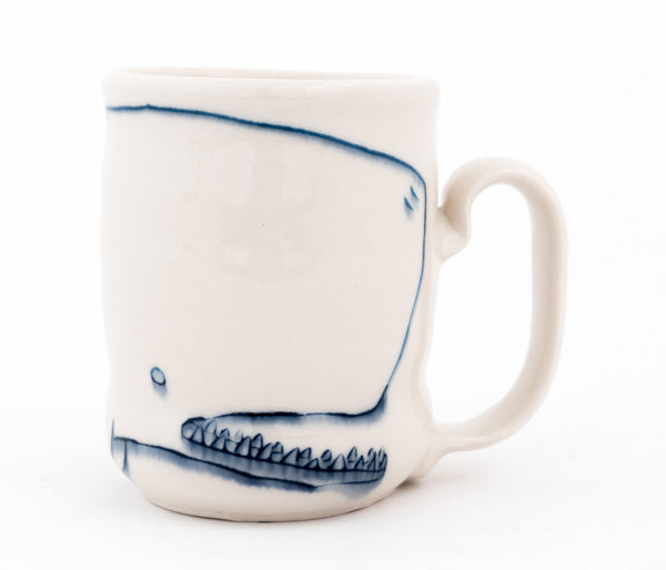 Bi-color Whale and Bird Cup  (c-2572) 13 fl oz