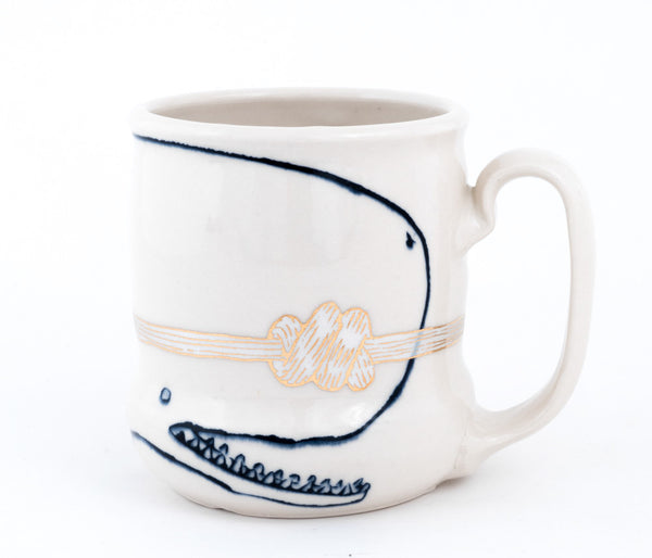 Whale and Knot Cup (c-2586) 16 fl oz