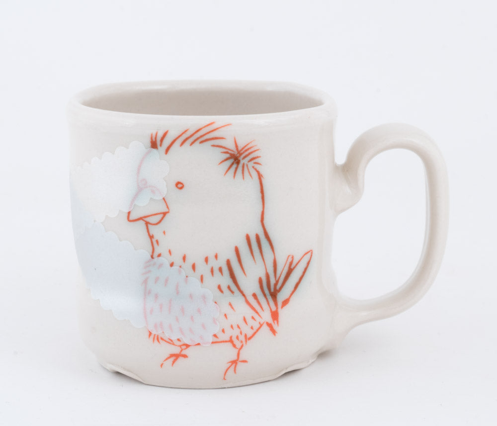 Bear and Bird Cup (c-2594) 8 fl oz