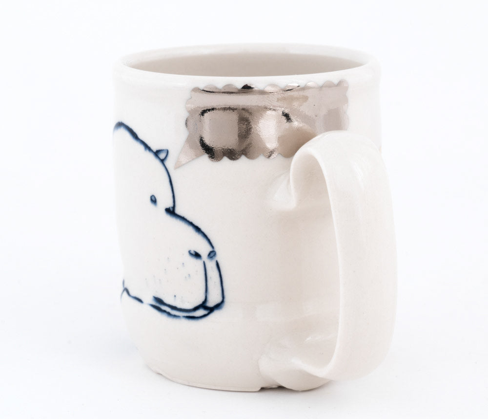 Hippo and Bird Cup (c-2620) 12 fl oz