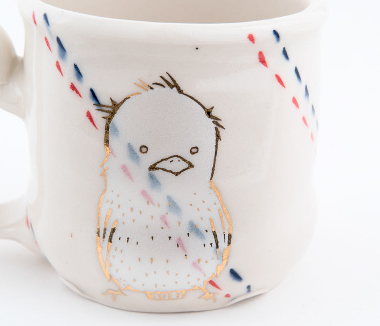 Bird and Campfire Cup (c-2621) 8 fl oz