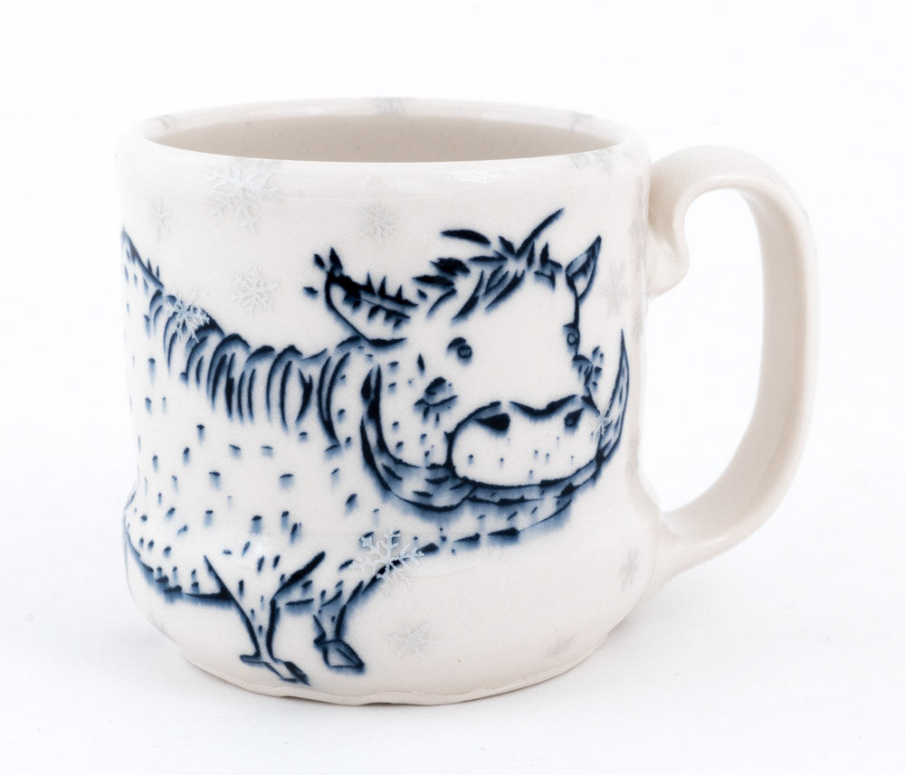 Warthog in Snow Cup (c-2624) 9 fl oz