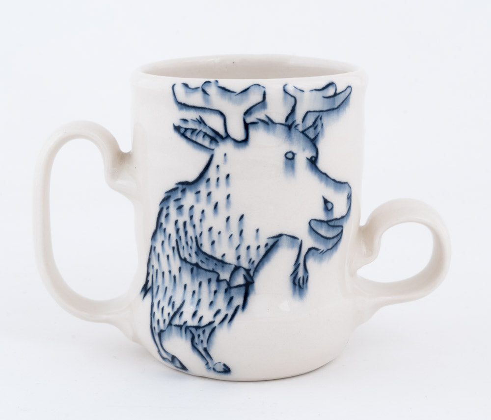 Double Handle Moose Cup (c-2631) 8 fl oz