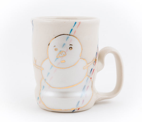 Snowman and Campfire Cup (c-2662) 8 fl oz