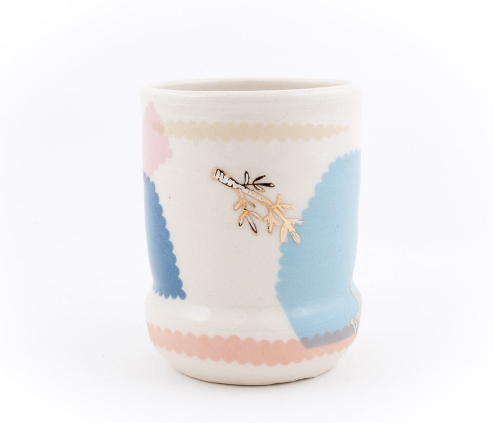 Bird and Branches Cup (c-2673) 17 fl oz