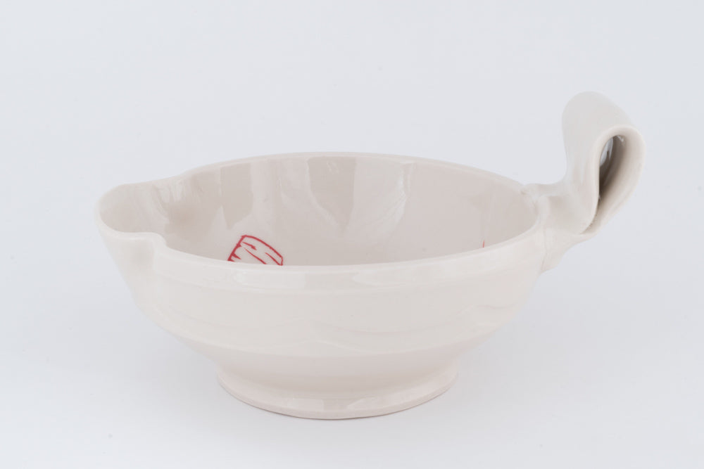 Bi-color Bird Mixing Bowl (mb-29)