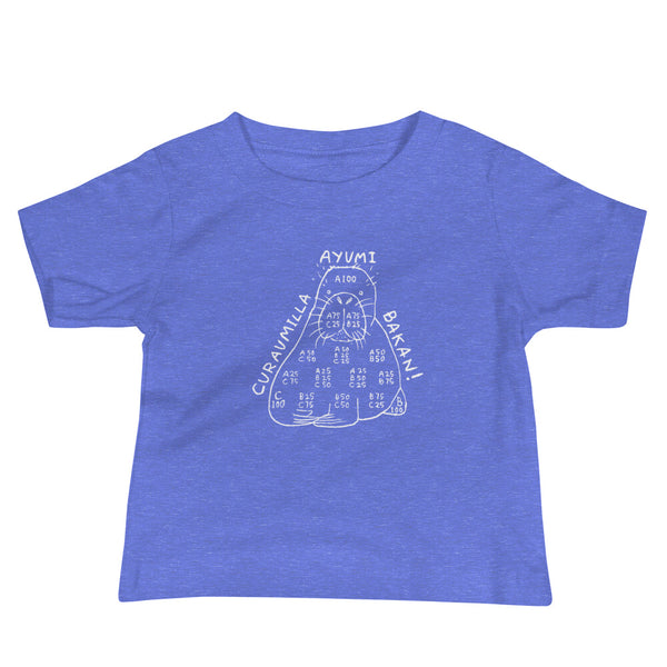 Triaxial Blend Sea Lion Baby T-shirt