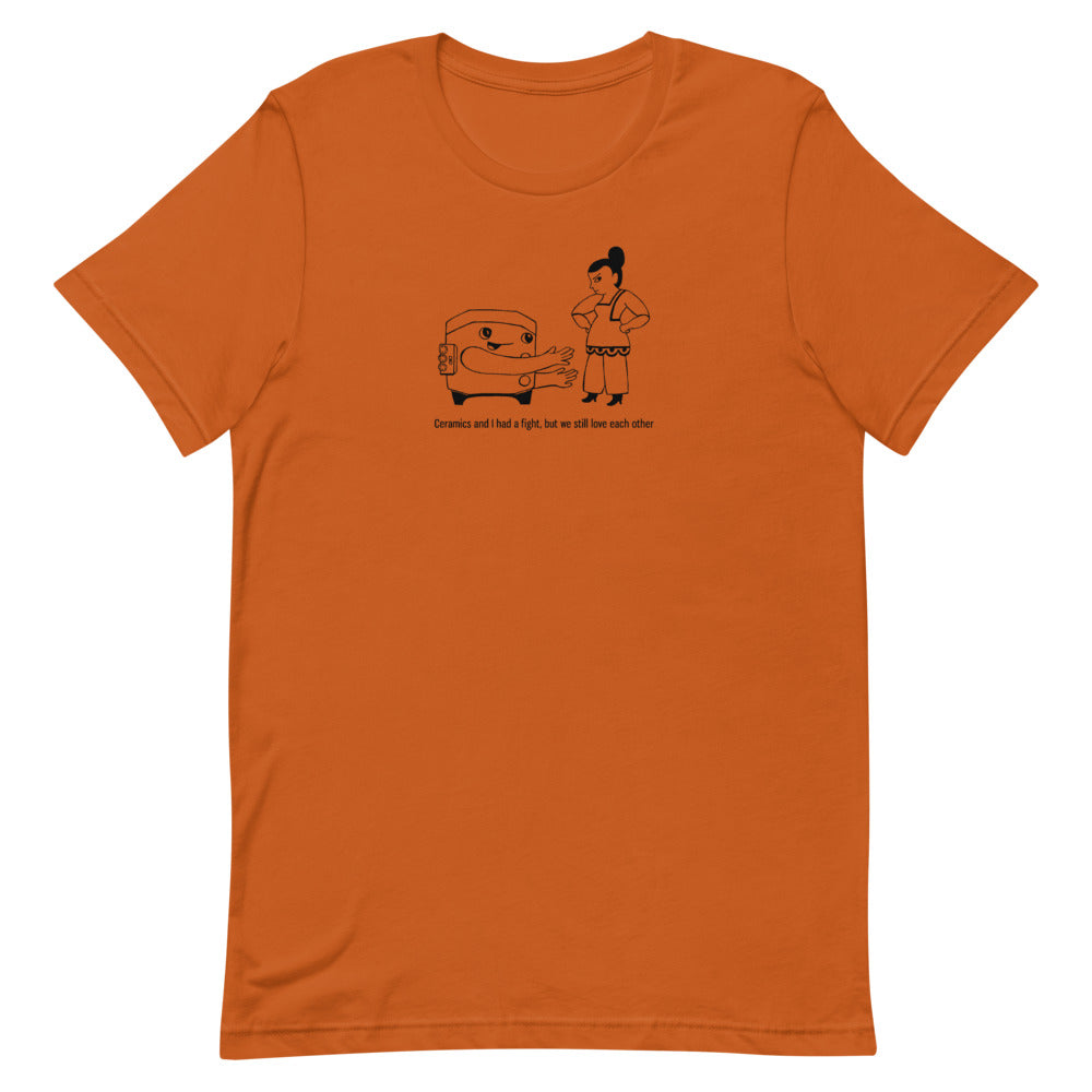 Ceramics Fight- PERSON 1- T-Shirt
