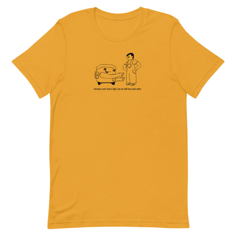Ceramic Fight- PERSON 4- T-Shirt