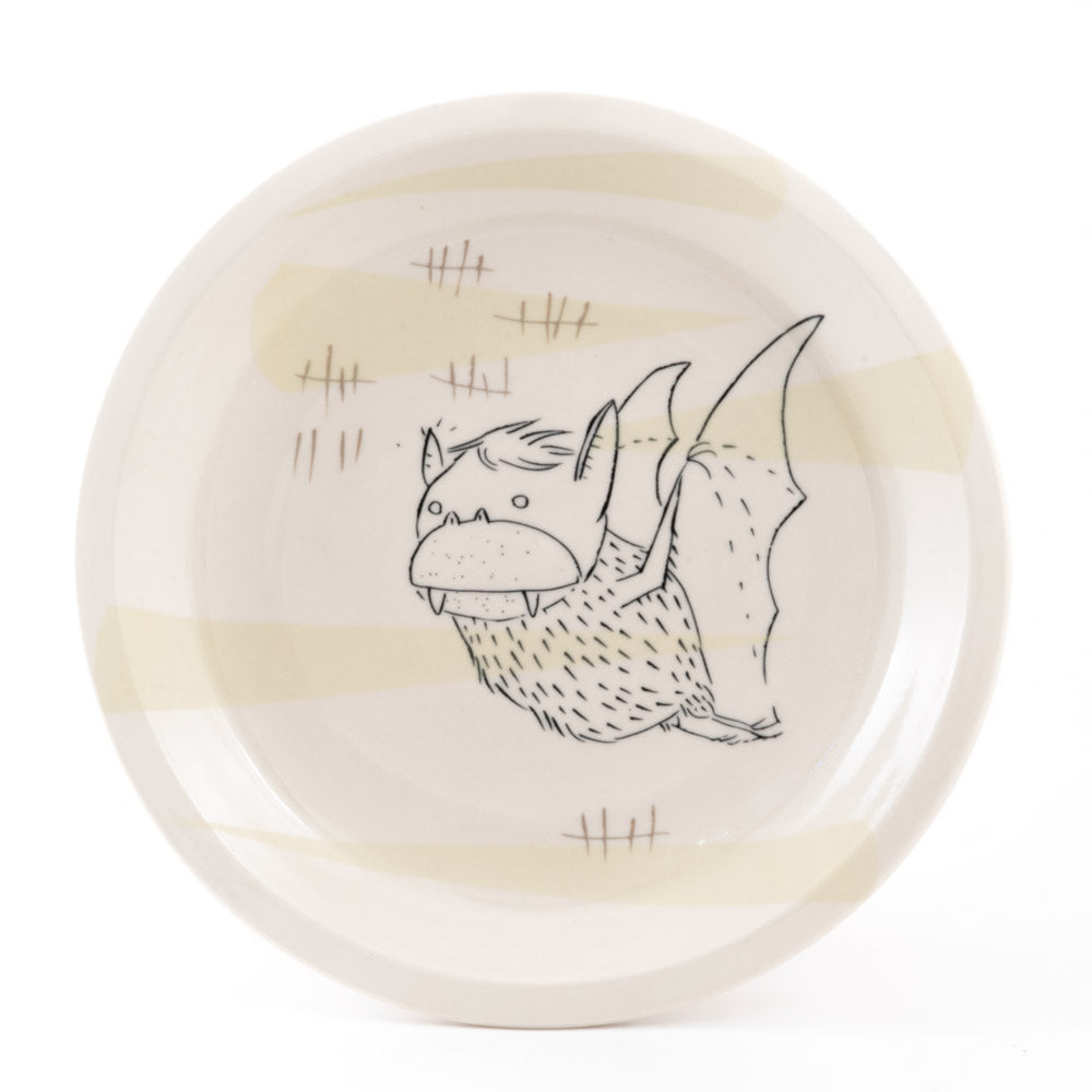 Bat with Tally Marks Plate (pd-325)