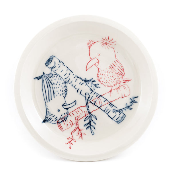 Birds and Branches Dinner Plate (pd-343)