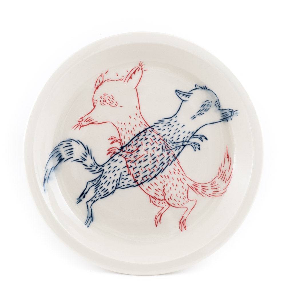 Raccoons Dinner Plate (pd-348)