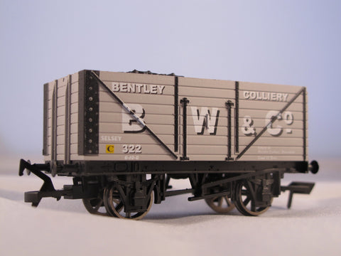 7 Plank Wagon - Bentley Colliery