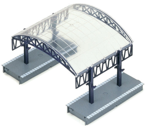 Station Canopy Over Roof