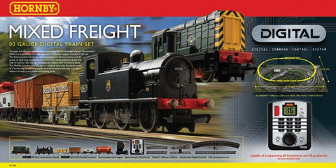 Mixed Freight Digital Train Set
