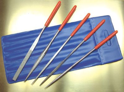 5 Piece Needle File Set