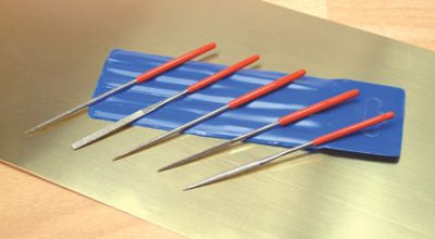 5 Piece Mini Needle File Set