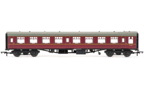 BR Mk1 Second Open Coach, Maroon