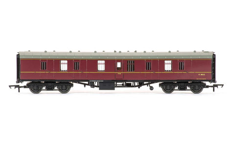 BR Mk1 Parcels Coach, Maroon