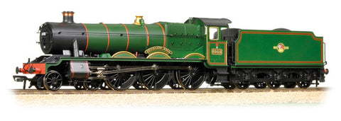 Modified Hall 6988 'Swithland Hall' BR Lined Green Late Crest c/w Collett tender