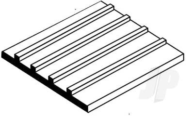 "Board & Batten 0.125"" Spacing x 0.040"" Thick"