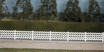 LMS Station Fencing - Black