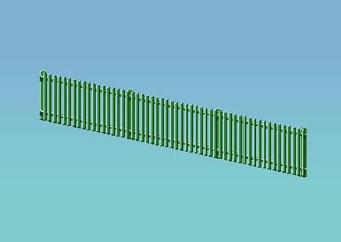 GWR Station Fencing (Green)