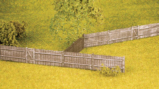 Feather Edge Board Fencing