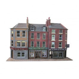Low Relief Pub & Shops