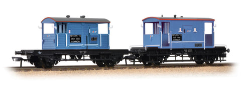20 Ton Brake Van & SR Pill Box Twin Pack Network SouthEast