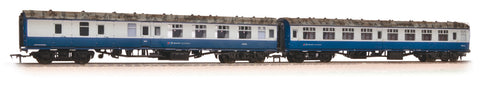 MK1 Coach Pack (1xSK & 1xBSK) BR Blue & Grey with Network SouthEast Flashes Weathered