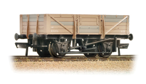 5 Plank China Clay Wagon without Hood BR Bauxite - Heavily Weathered