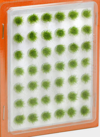 Grass Tufts Mini Set - Green 6mm