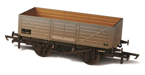 6 Plank Open Wagon - BR Grey Weathered