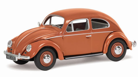 VW Beetle, Coral Oval Rear Window Saloon