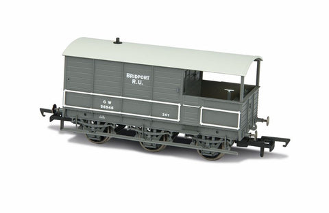 GWR Toad Brake Van - 6 Wheel Plated