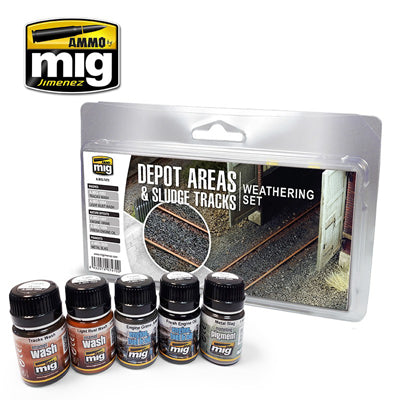 Depot Area Weathering Set
