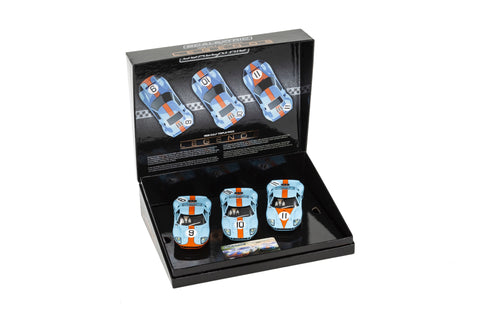 Ford GT40 1968 – Gulf Triple Pack - Limited Edtion