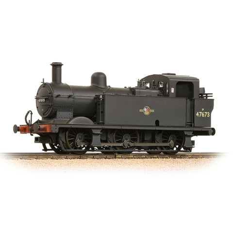 Fowler Class 3F 0-6-0 (Jinty) 47673 BR Black Late Crest Weathered