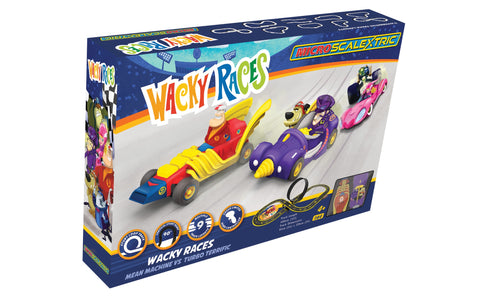 Micro Scalextric Wacky Races (Mains Powered)