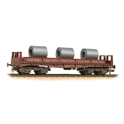 BAA Steel Carrier Wagon BR Brown with Coils Weathered