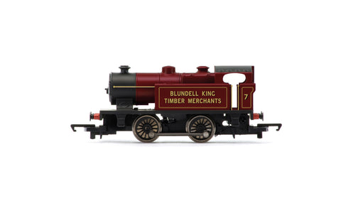 Blundell King Timber Merchants, Type D, 0-4-0T, No. 7 - Era 3/4